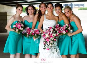 Awesome elegance turquoise bridesmaid dress 38