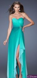 Awesome elegance turquoise bridesmaid dress 44