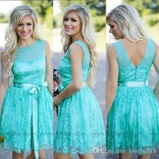 Awesome elegance turquoise bridesmaid dress 52