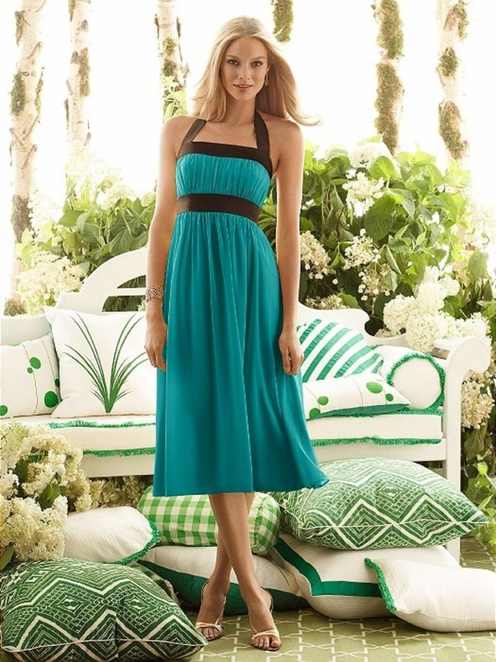 Awesome elegance turquoise bridesmaid dress 60