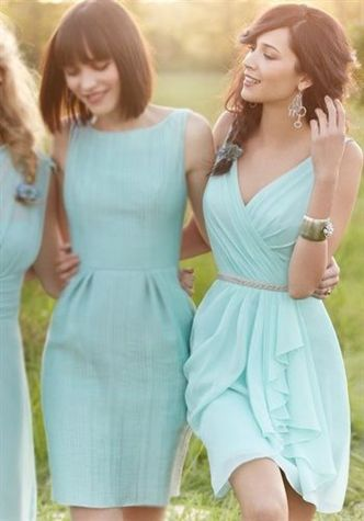 Awesome elegance turquoise bridesmaid dress 6 1