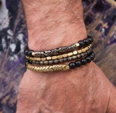 Awesome handmade bracelet for men 35