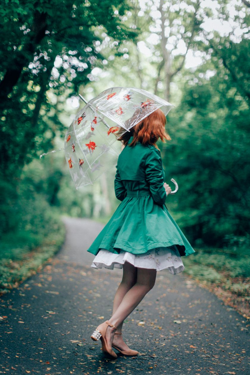 Awesome rainy day outfit style 28