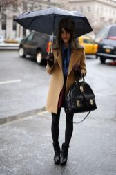 Awesome rainy day outfit style 3