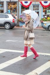 Awesome rainy day outfit style 30