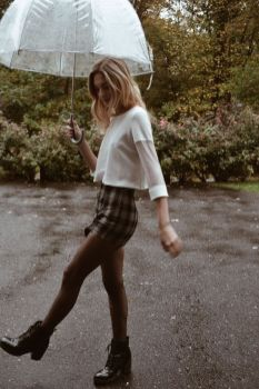 Awesome rainy day outfit style 32