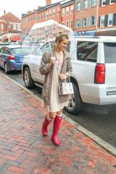 Awesome rainy day outfit style 42