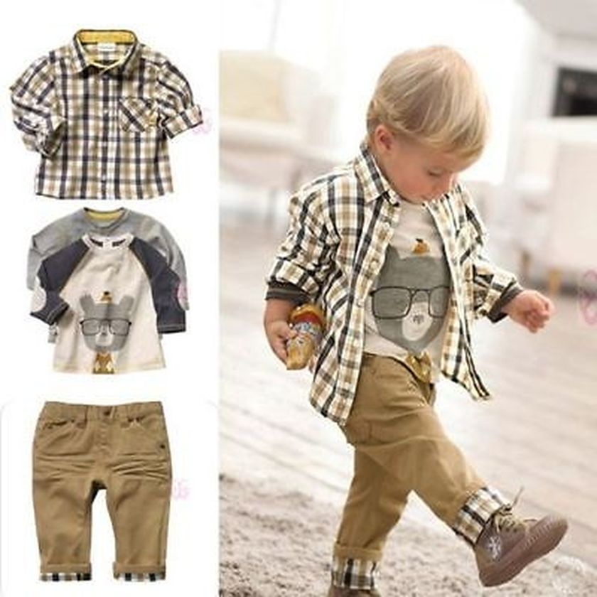Cool boys kids fashions outfit style 52