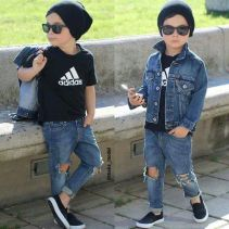Cool boys kids fashions outfit style 54