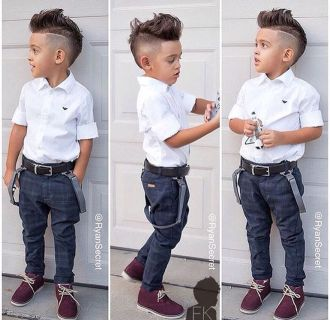 Cool boys kids fashions outfit style 63