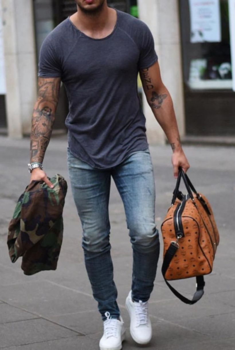 Cool mens gym and workout outfits style 24