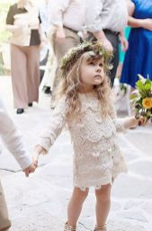 Cute bridesmaid dresses for little girls ideas 31