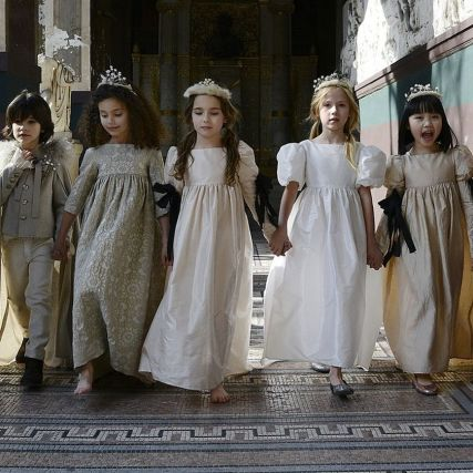 Cute bridesmaid dresses for little girls ideas 32