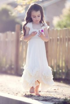 Cute bridesmaid dresses for little girls ideas 38