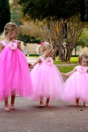 Cute bridesmaid dresses for little girls ideas 65