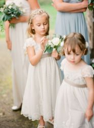 Cute bridesmaid dresses for little girls ideas 83