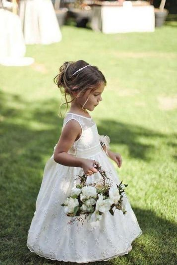 Cute bridesmaid dresses for little girls ideas 91