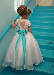 Cute bridesmaid dresses for little girls ideas 93