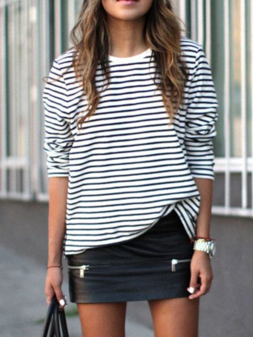Cute oversized t shirt outfit styles 31