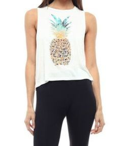 Cute pineapple tank top must you have 11