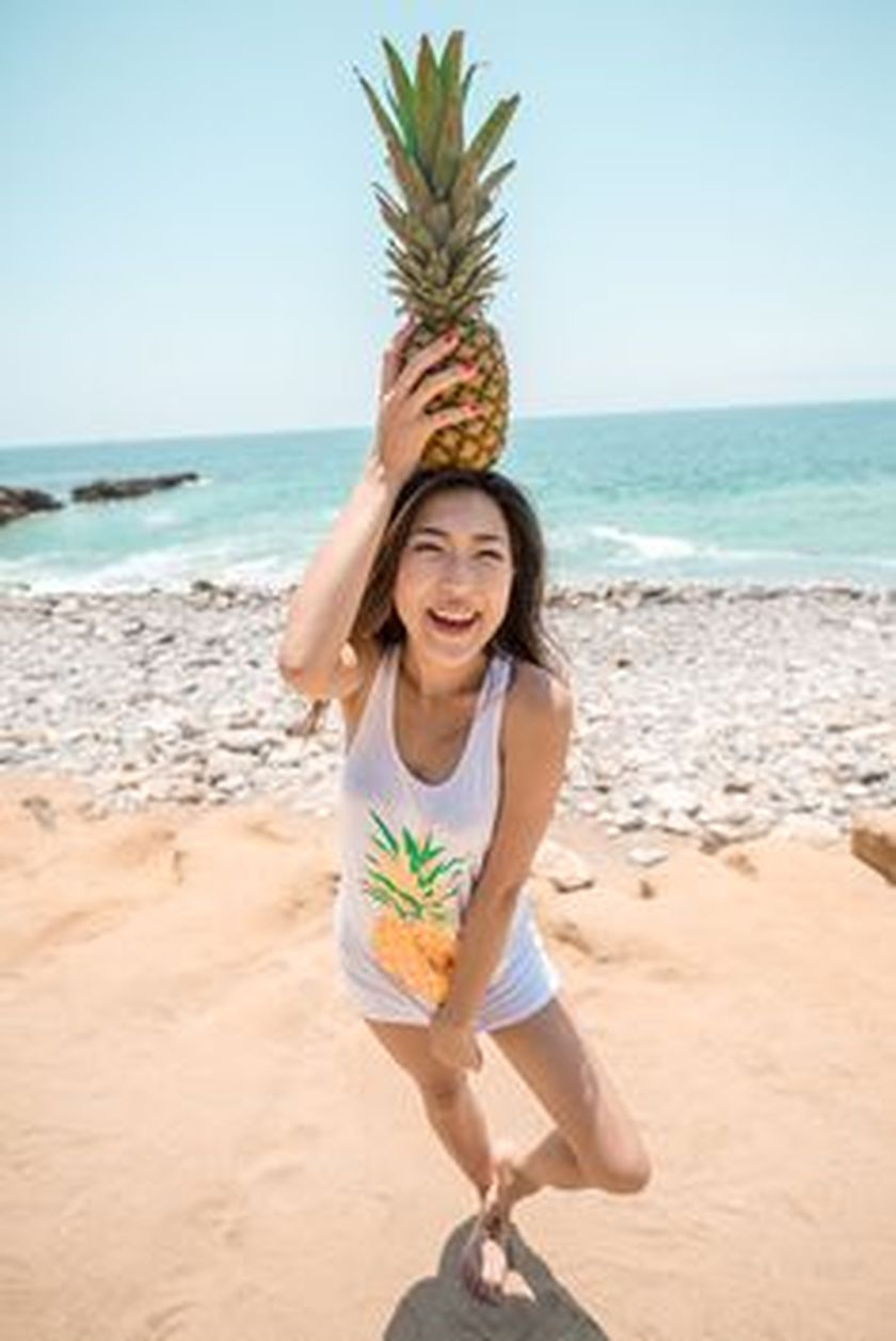 Cute pineapple tank top must you have 16
