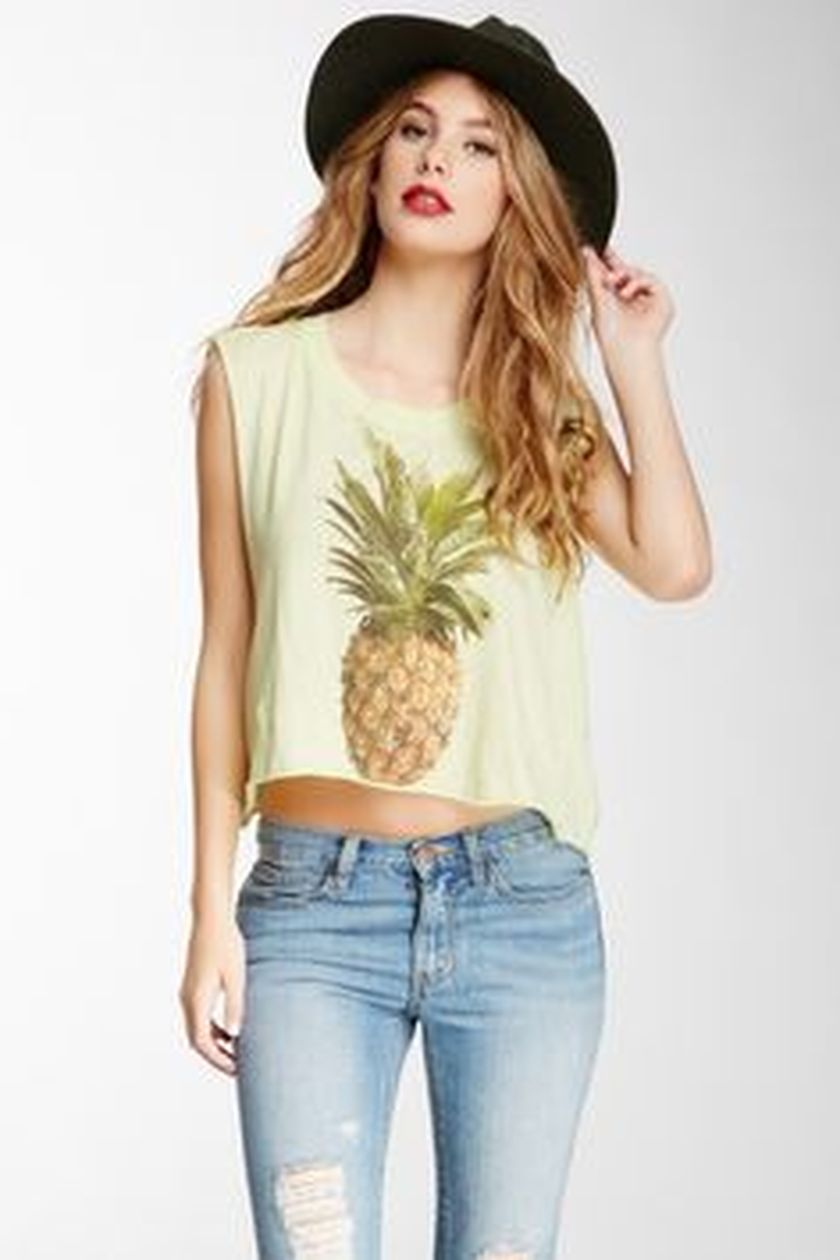 Cute pineapple tank top must you have 17