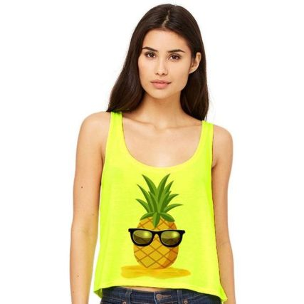 Cute pineapple tank top must you have 4