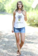 Cute pineapple tank top must you have 51