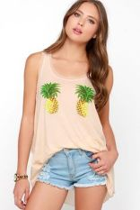 Cute pineapple tank top must you have 57
