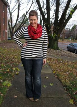 Fabulous plus size striped shirt outfits 30