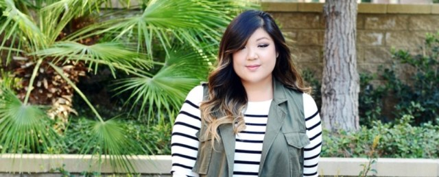 Fabulous striped shirt outfits for plus size featured