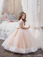 Gorgeous flower girl lace dresses ideas 3