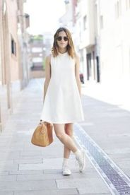How to wear white sneaker for spring outfits 106