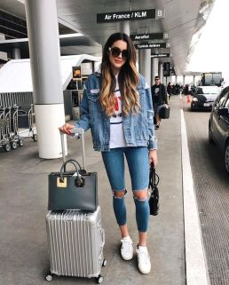 How to wear white sneaker for spring outfits 147