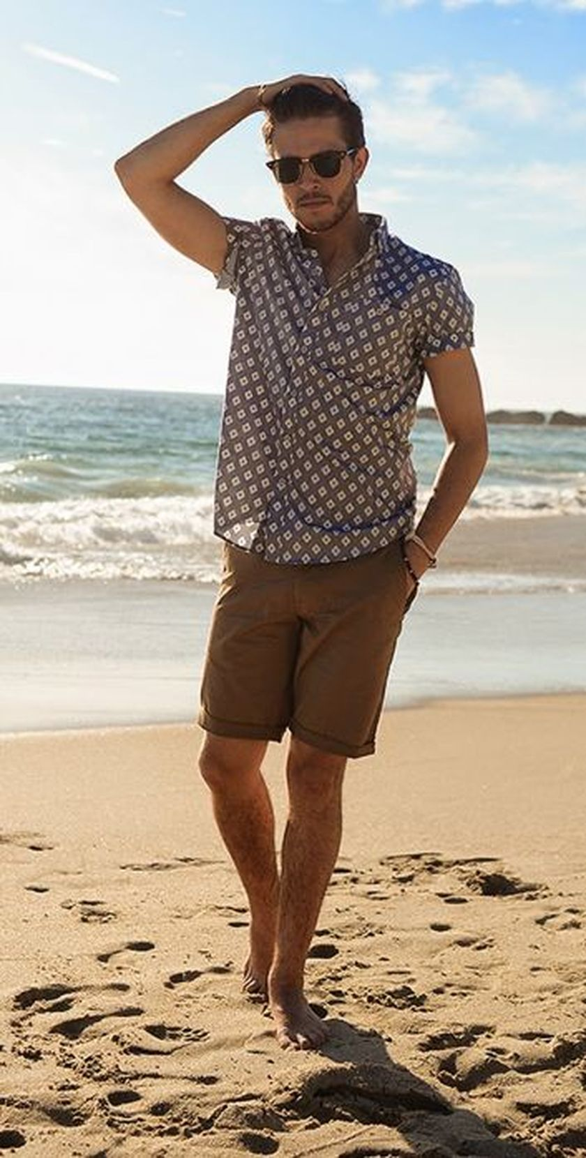 Mens fashions should wear while on the beach 36