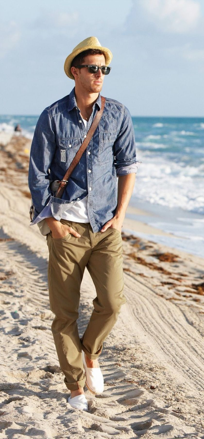 Mens fashions should wear while on the beach 47