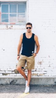 Mens summer casual short outfits worth to copy 1