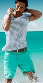 Mens summer casual short outfits worth to copy 18