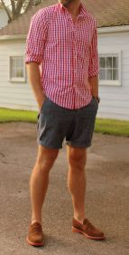 Mens summer casual short outfits worth to copy 44