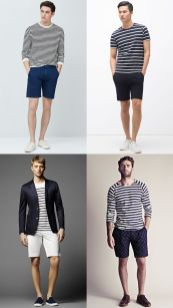 Mens summer casual short outfits worth to copy 51