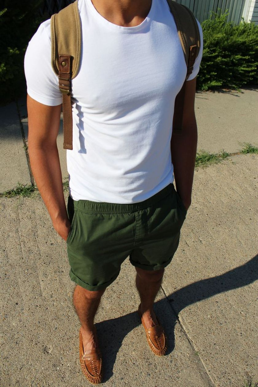 Mens summer casual short outfits worth to copy 53