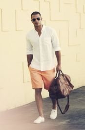 Mens summer casual short outfits worth to copy 58