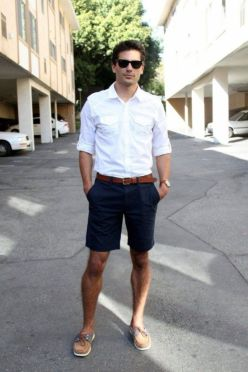 Mens summer casual short outfits worth to copy 9