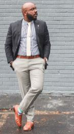 Plus size big and tall mens fashion outfit style ideas 33