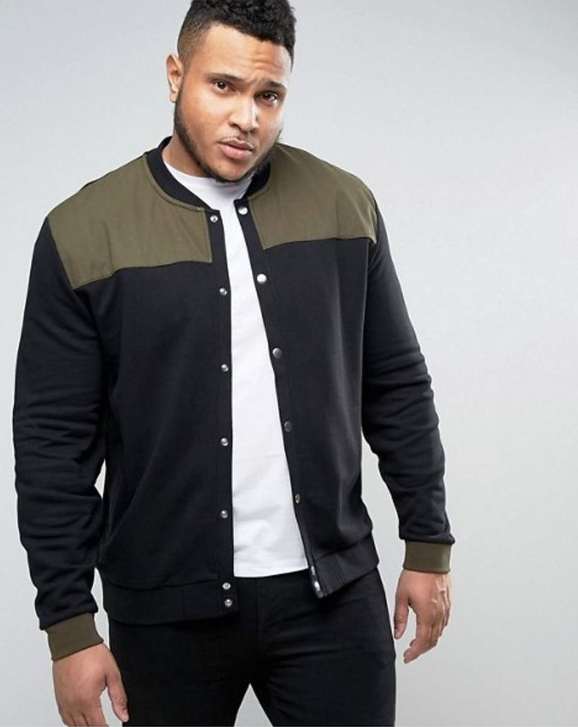 Plus size big and tall mens fashion outfit style ideas 5