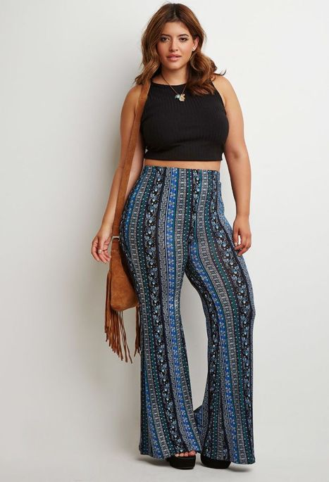 Plus size boho outfit style 2