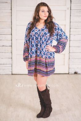 Plus size boho outfit style 49