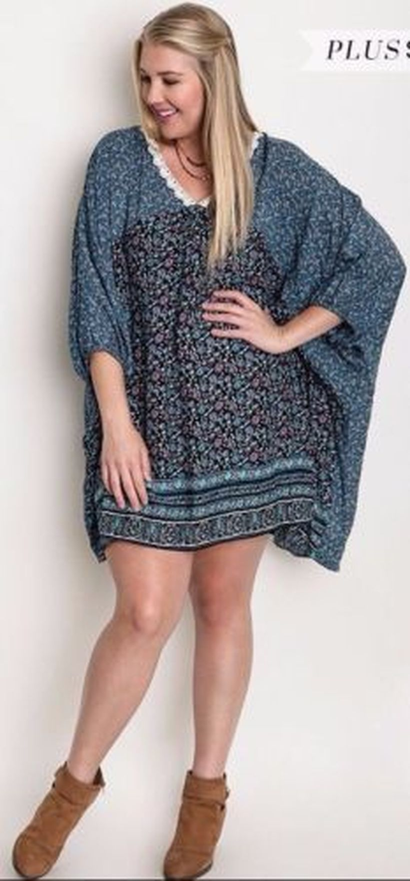 Plus size boho outfit style 7