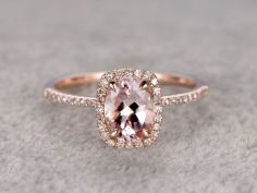 Rose gold solitaire ring for wedding 10