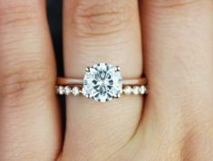 Rose gold solitaire ring for wedding 28